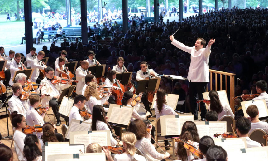 Tanglewood Music Festival 〓 The festival announced the